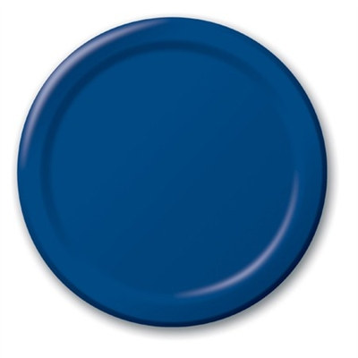 Navy Lunch Plates (24/pkg)