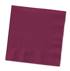 Burgundy Lunch Napkins (50/pkg)