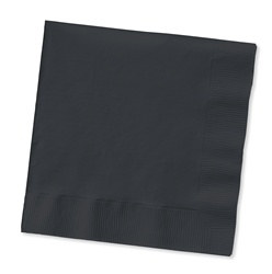 Black Beverage Napkins (50/pkg)
