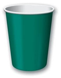 Hunter Green Hot/Cold Cups (24/pkg)
