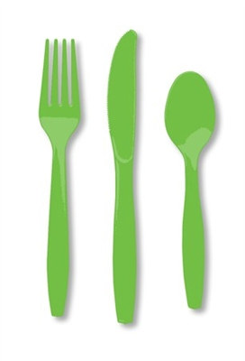 Kiwi Assorted Cutlery (24/pkg)