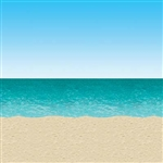 Use this extremely versatile, high quality Blue Sky and Ocean Backdrop to decorate your walls for a beach party, luau party or even a pirate theme birthday.