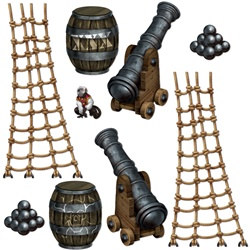Pirate Ship Props (9/pkg)