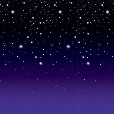 Starry Night Backdrop PartyCheap