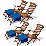 Cruise Ship Deck Chair Props