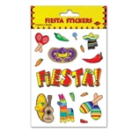 Fiesta Stickers (4 sheets/pkg)