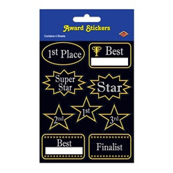Cheap Award Stickers