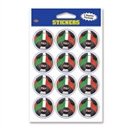 Italy Soccer Stickers (2 Sheets Per Package)