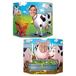 Barnyard Friends Photo Prop