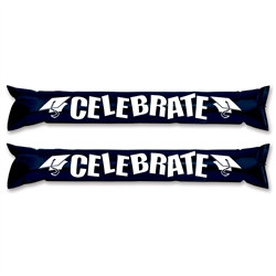 Black and White Graduation Party Sticks