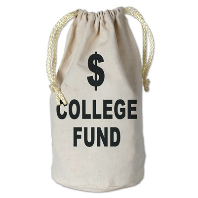 College Fund Money Bag