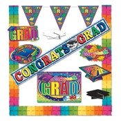Graduation Party Kit (10 Items Per Kit)