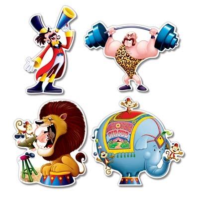 Circus cutouts partycheap - Cheap circus decorations ...