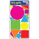 80s Party Shape Decals