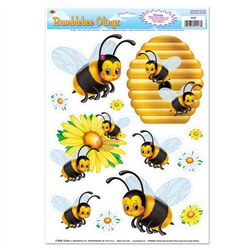 Bumblebee Window Clings