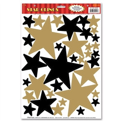 Star Clings (36/Sheet)