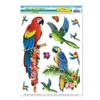 Tropical Bird Window Clings