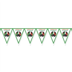 Italy Soccer Pennant Banner