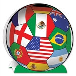 International Soccer 3-D Centerpiece