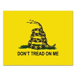 Don't Tread On Me Cutout