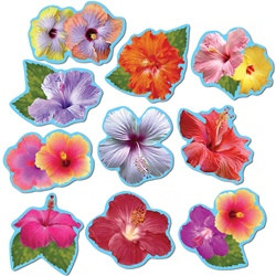 Mini Hibiscus Cutouts