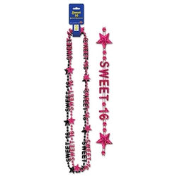Sweet 16 Beads-Of-Expression (2/Pkg)