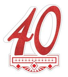 40 birthday party decorations
