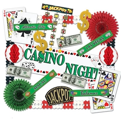 Casino Decorating Kit