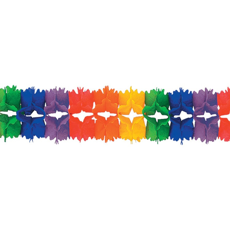 Rainbow Pageant Garland Partycheap
