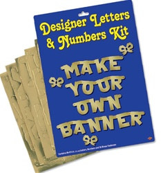 Gold Custom Banner Kit