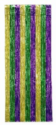 Green, Gold, and Purple 1-Ply Gleam N Curtain