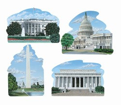 Washington DC Cutouts