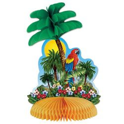 Tropical Island Centerpiece