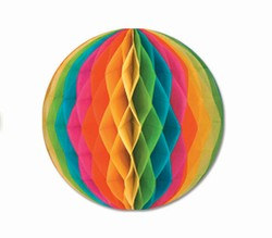 Multi-Color Art-Tissue Ball, 12 in