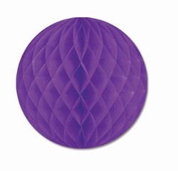 Purple Art-Tissue Ball, 12 in