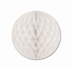 White Art-Tissue Ball, 12 in