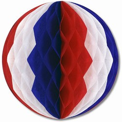 Red, White, and Blue Art-Tissue™ Ball