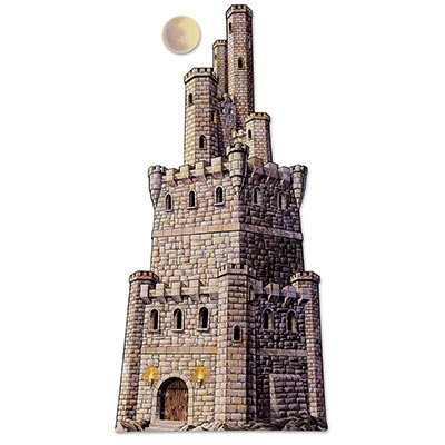 Jointed large castle tower partycheap - Cheap medieval home decor ...