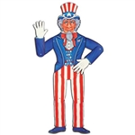 Jointed Uncle Sam Cutout