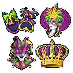 Masquerade Party Cutouts