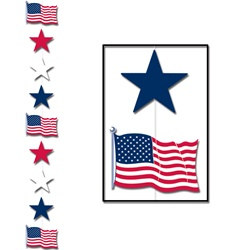 Red, White, and Blue Star Stringer