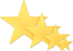 Gold Foil Star (9 inch)