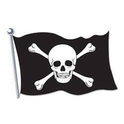 Pirate Flag Cutout