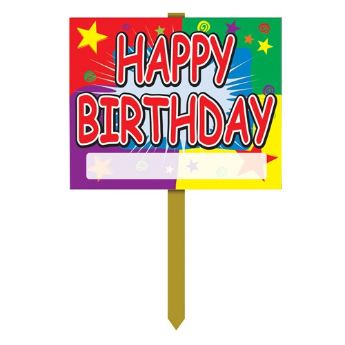 Birthday Yard Sign Partycheap