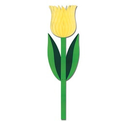Yellow Tissue Tulip