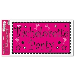 Bachelorette Peel N Place (1/sheet)