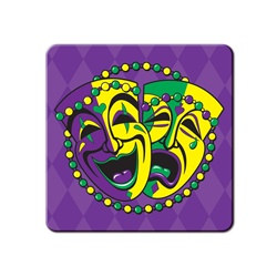 Comedy and Tragedy Face Coasters (8/pkg)