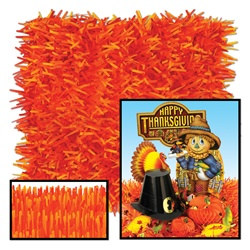 Golden-Yellow, Orange, and Red Tissue Grass Mats (2/pkg)