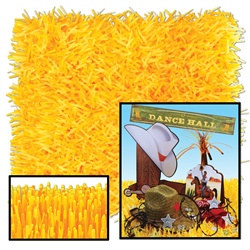 Golden-Yellow Tissue Grass Mats (2/pkg)