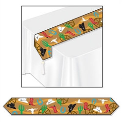 Printed Western Table Runner